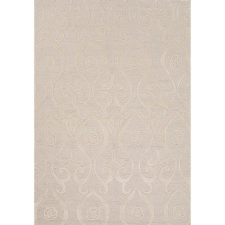 Hand-tufted Floral Ivory Area Rug (2' x 3')