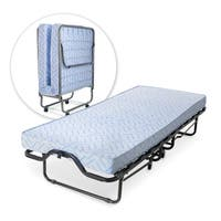 Milliard Lightweight 74 x 31-inch Rollaway Folding Cot/ Guest Bed with Medium Firm Foam Mattress and Casters