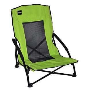 Caravan Sports Compact Lime Green Low-back Folding Chair