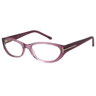 Tom Ford Readers Women's TF5123 Oval Purple Reading Glasses (As Is Item)