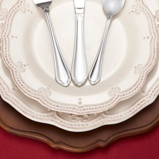 RiverRidge Home Royalty 46-piece Flatware Set
