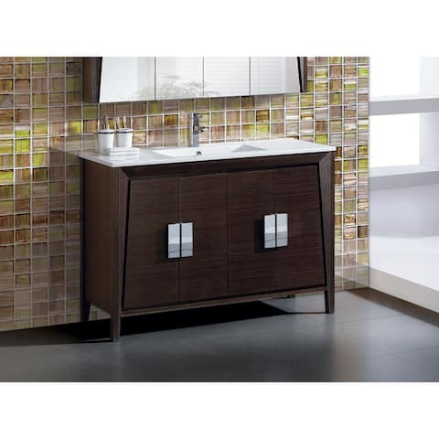 Fine Fixtures 'Imperial II' 48-inch Bath Vanity with Vitreous China Sink Top