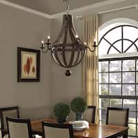 Ballista Chandelier - Brass