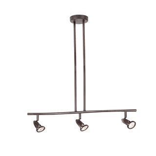 Cambridge 3-Light Rubbed Oil Bronze 26.5 in. Track Light