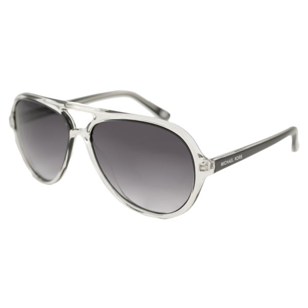 22682d3478 Shop Michael Kors Women s M2811S Caicos Aviator Sunglasses (As Is ...