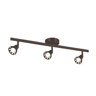 Cambridge 3-Light Rubbed Oil Bronze 4.75 in. Track Light