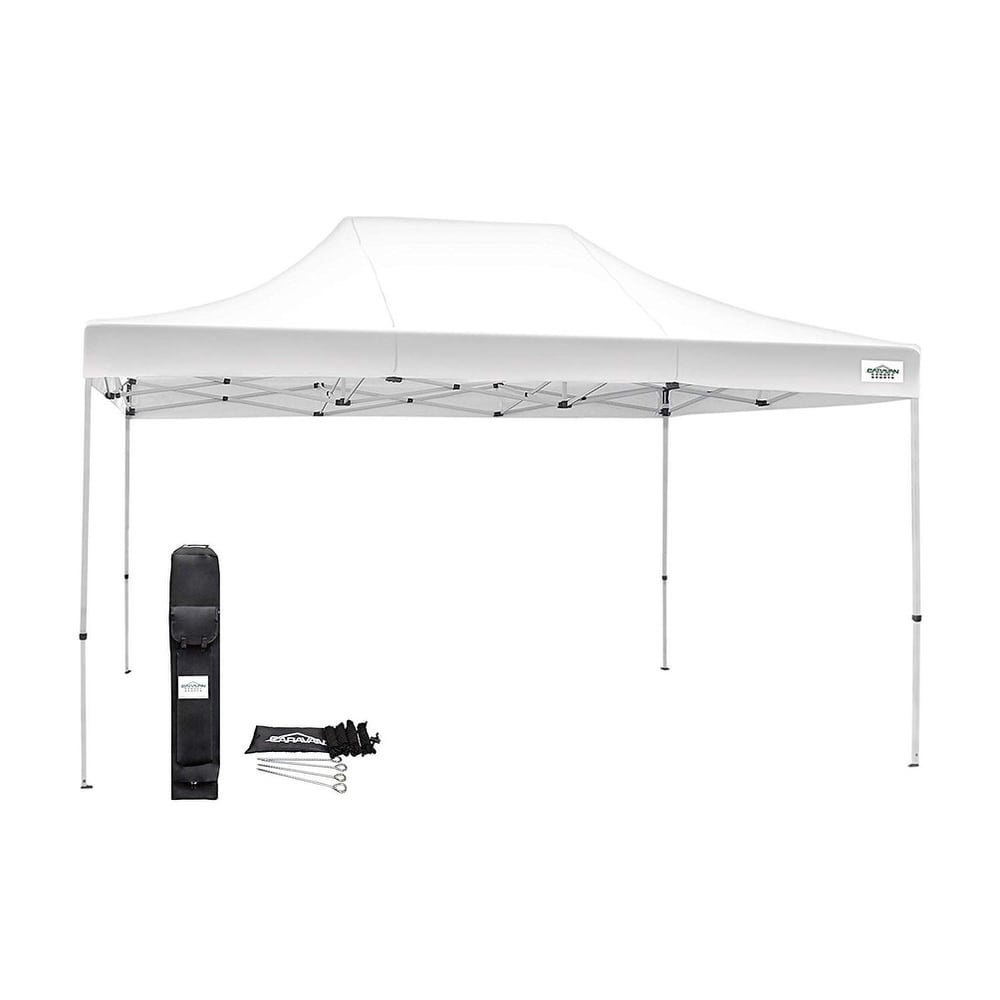 Caravan Canopy TitanShade 10 x 15 White Instant Canopy (10 x 15 - White)