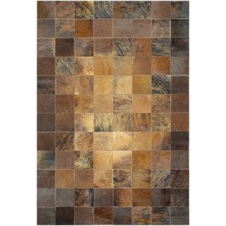 Chalet Tile Brown Rug (8' x 11'4)