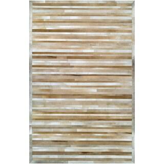 Chalet Plank Beige/ Brown Rug (8' x 11')