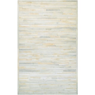 Chalet Plank Ivory Rug (8' x 11')