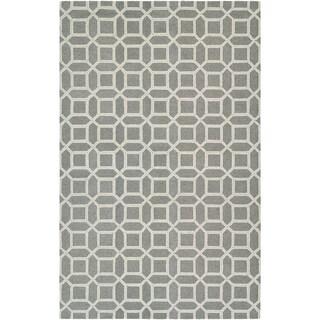 "Bowery Havemeyer Charcoal-Grey Area Rug - 7'9"" x 10'7"""