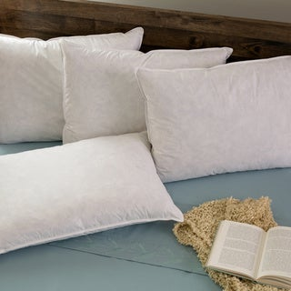 Hotel Madison TruLoft Medium Firm Feather Pillow (Set of 4)