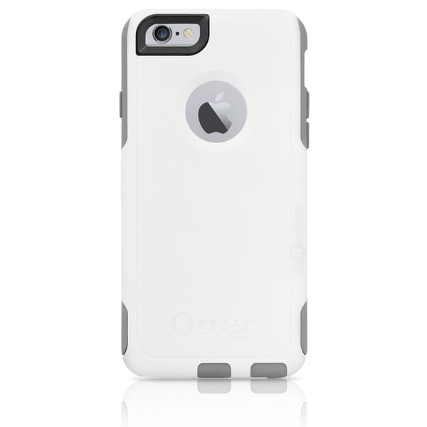 "Brand NEW OtterBox Commuter Series Case for iPhone 6 (4.7"") w/ Screen Protector White/Grey"