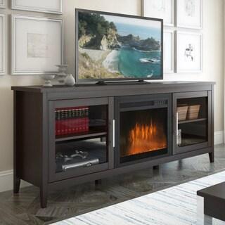 CorLiving TFP-684-Z Jackson Espresso Fireplace Entertainment Center