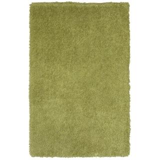 "Senses Shag Green Rectangle Area Rug (7'9"" x 9'9"")"