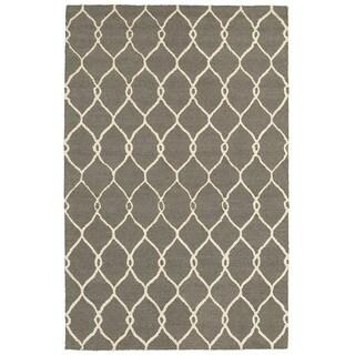 Dazzle Gray/ Ivory Area Rug (8' x 10')