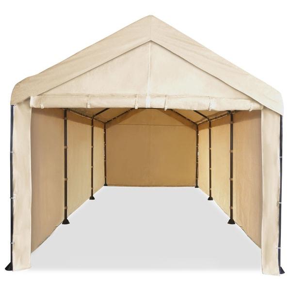 Caravan Canopy Mega Domain Carport Full Sidewall Kit