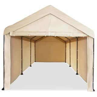 Caravan Canopy Mega Domain Carport Full Sidewall Kit|https://ak1.ostkcdn.com/images/products/10031400/P17176601.jpg?impolicy=medium