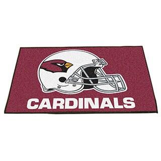Fanmats Arizona Cardinals Red Nylon Allstar Rug (2'8 x 3'8)