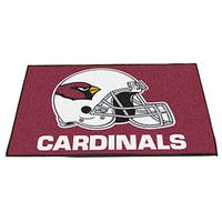 Fanmats Arizona Cardinals Red Nylon Allstar Rug (2'8 x 3'8)