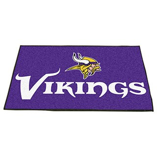 Fanmats Minnesota Vikings Purple Nylon Allstar Rug (2'8 x 3'8)