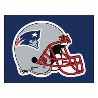 Fanmats New England Patriots Blue Nylon Allstar Rug (2'8 x 3'8)