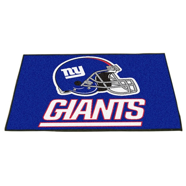 Fanmats New York Giants Blue Nylon Allstar Rug (2'8 x 3'8)