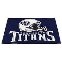 Fanmats Tennessee Titans Blue Nylon Allstar Rug (2'8 x 3'8)
