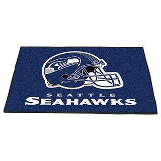 Fanmats Seattle Seahawks Blue Nylon Allstar Rug (2'8 x 3'8)