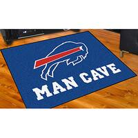 Fanmats Buffalo Bills Blue Nylon Man Cave Allstar Rug (2'8 x 3'8)