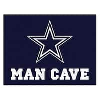 Fanmats Dallas Cowboys Blue Nylon Man Cave Allstar Rug (2'8 x 3'8)