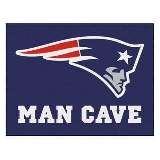 Fanmats New England Patriots Blue Nylon Man Cave Allstar Rug (2'8 x 3'8)