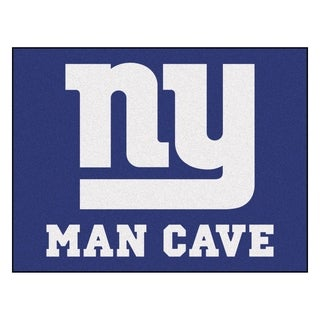 Fanmats New York Giants Blue Nylon Man Cave Allstar Rug (2'8 x 3'8)