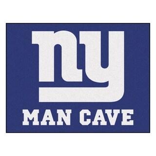 Fanmats New York Giants Blue Nylon Man Cave Allstar Rug (2'8 x 3'8)