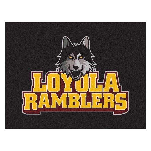 Fanmats Loyola University Chicago Black Nylon Allstar Rug (2'8 x 3'8)