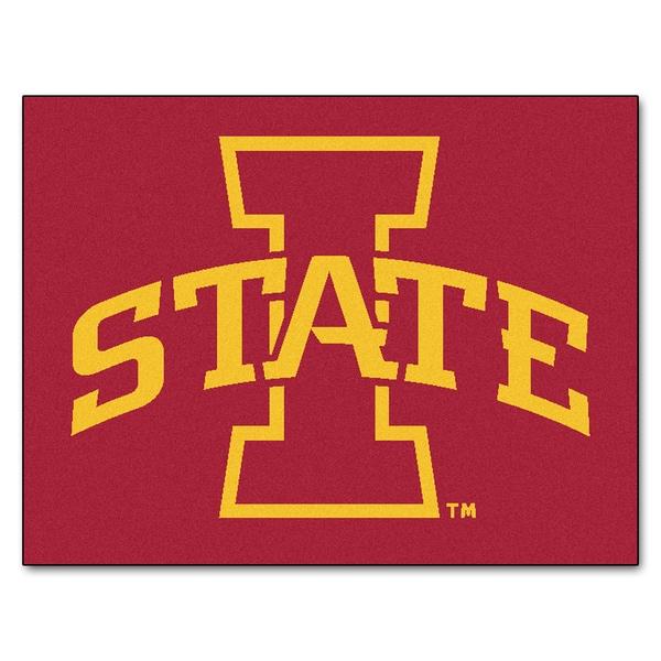 Fanmats Iowa State University Red Nylon Allstar Rug (2'8 x 3'8)