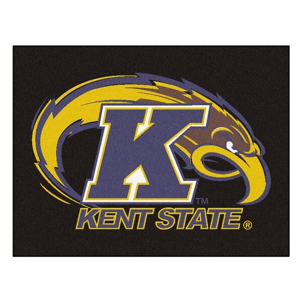 Fanmats Kent State University Blue Nylon Allstar Rug (2'8 x 3'8)