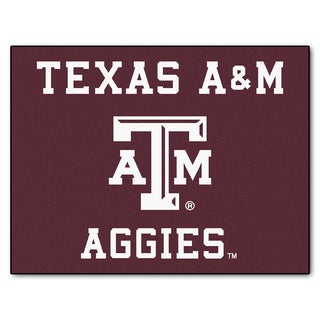 Fanmats Texas A&M University Burgundy Nylon Allstar Rug (2'8 x 3'8)