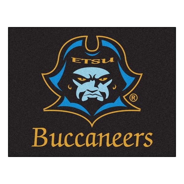 Fanmats East Tennessee State University Blue Nylon Allstar Rug (2'8 x 3'8)