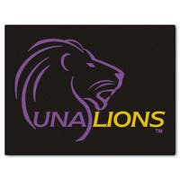 Fanmats University of North Alabama Black Nylon Allstar Rug (2'8 x 3'8)