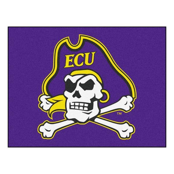 Fanmats East Carolina University Purple Nylon Allstar Rug (2'8 x 3'8)