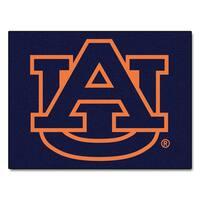 Fanmats Auburn University Blue Nylon Allstar Rug (2'8 x 3'8)