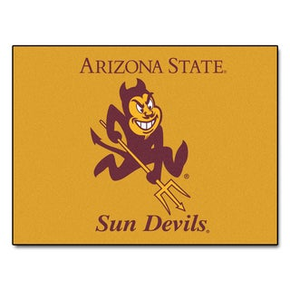 Fanmats Arizona State University Gold Nylon Allstar Rug (2'8 x 3'8)