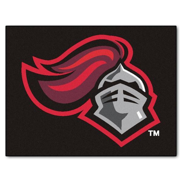 Fanmats Rutgers Black Nylon Allstar Rug (2'8 x 3'8)