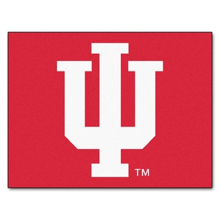 Fanmats Indiana University Red Nylon Allstar Rug (2'8 x 3'8)