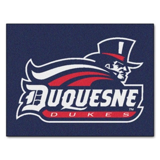 Fanmats Duquesne University Blue Nylon Allstar Rug (2'8 x 3'8)