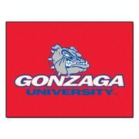 Fanmats Gonzaga University Red Nylon Allstar Rug (2'8 x 3'8)
