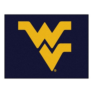 Fanmats WeSt. Virginia University Blue Nylon Allstar Rug (2'8 x 3'8)
