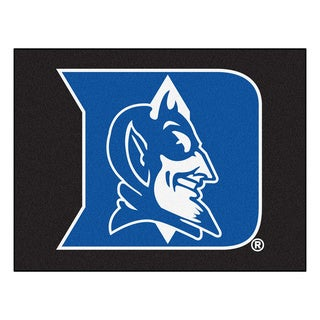 Fanmats Duke University Black Nylon Allstar Rug (2'8 x 3'8)
