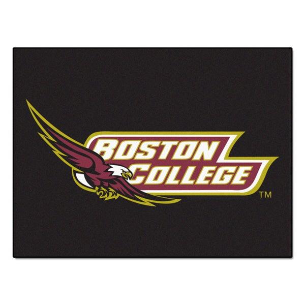 Fanmats Boston College Black Nylon Allstar Rug (2'8 x 3'8)